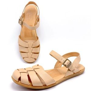 Kork-Ease Felda 10M Nude Fisherman Sandals
